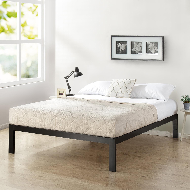 mainstays metal platform bed frame multiple sizes