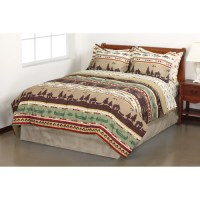 Mainstays Coordinated Bedding Set, Gone Fishing
