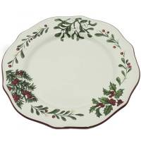 Better Homes and Gardens Heritage Dinner Plate, Set of 6 ...