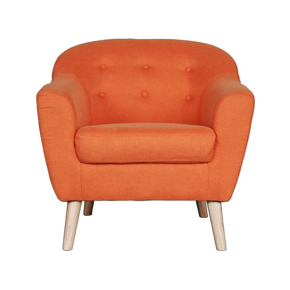 orange bucket chair tommy bahama beach chairs at costco tub walmart com product image incadozo mid century modern style accent