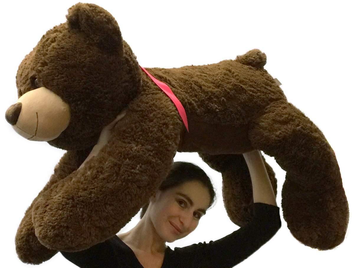 Giant Teddy Bear 36 Inch Brown Soft 3 Foot Teddy Bear
