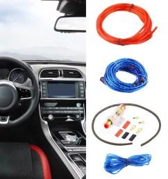 car audio subwoofer amplifier 800w 8ga car audio subwoofer amplifier amp wiring fuse holder wire cable kit walmart com [ 1010 x 1010 Pixel ]