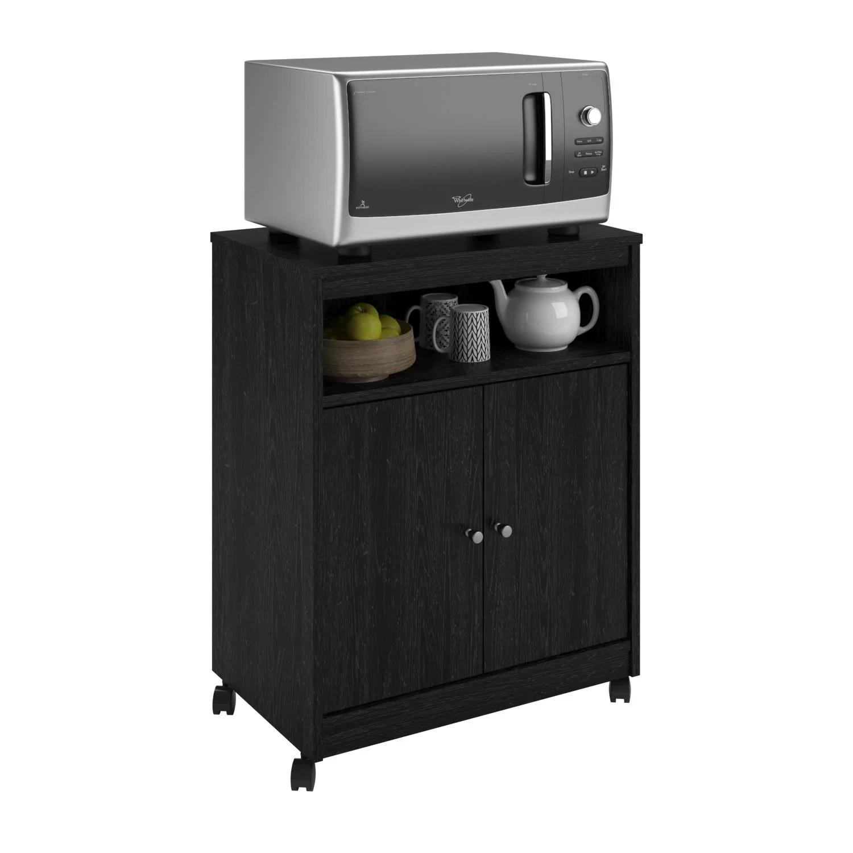 ameriwood home landry microwave cart multiple colors