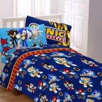 Sonic Speed Bedding Sheet Set - Walmart.com