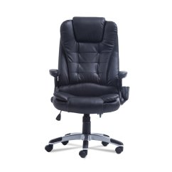 Ergonomic Chair Bd Bertoia Style White Office Computer Desk Massage Executive 360 Degree Height Adjustable 6 Point Black Walmart Com
