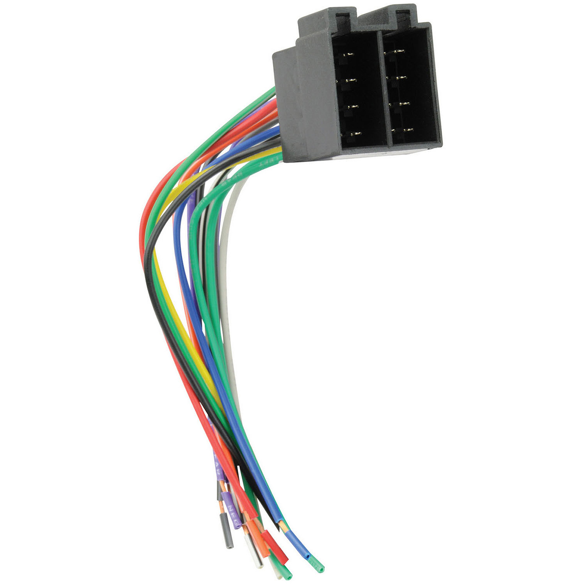 hight resolution of scosche hy11b 2008 and up hyundai premium sound wire harness connector for car radio stereo installation black walmart com