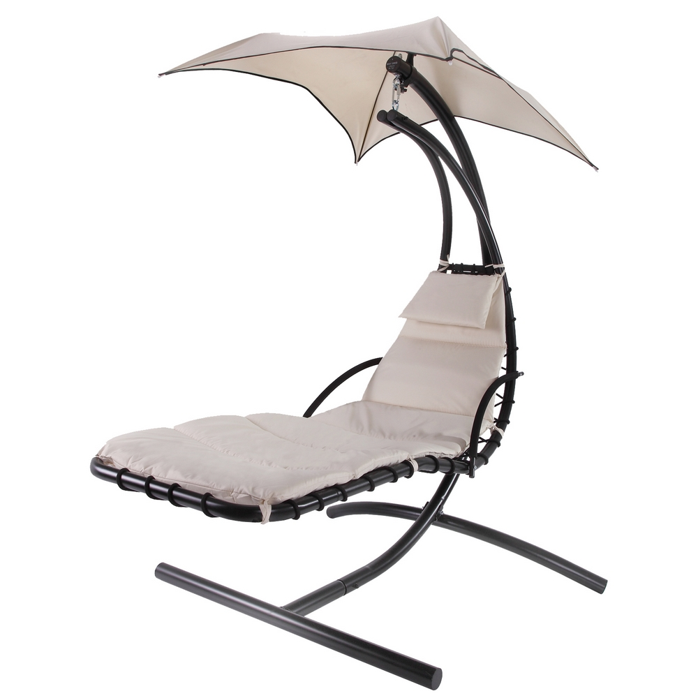 Hanging Chair Outdoor Palm Springs Outdoor Hanging Chair Recliner Swing Air Chaise Longue Cream
