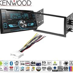 kenwood dpx503bt double din cd bluetooth siriusxm car stereo replaced dpx502bt dash stereo mounting kit w harness antenna install for nissan frontier [ 1000 x 1000 Pixel ]