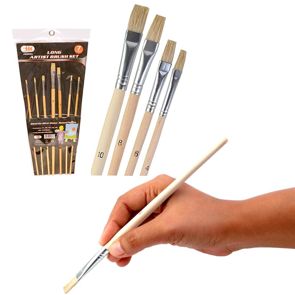 paint brush set 7