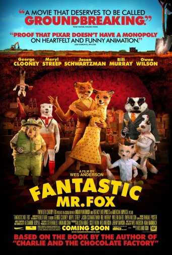 27inx40in fantastic mr fox movie poster giclee print reprint 27inx40in entertainment theme room art poster 27x40