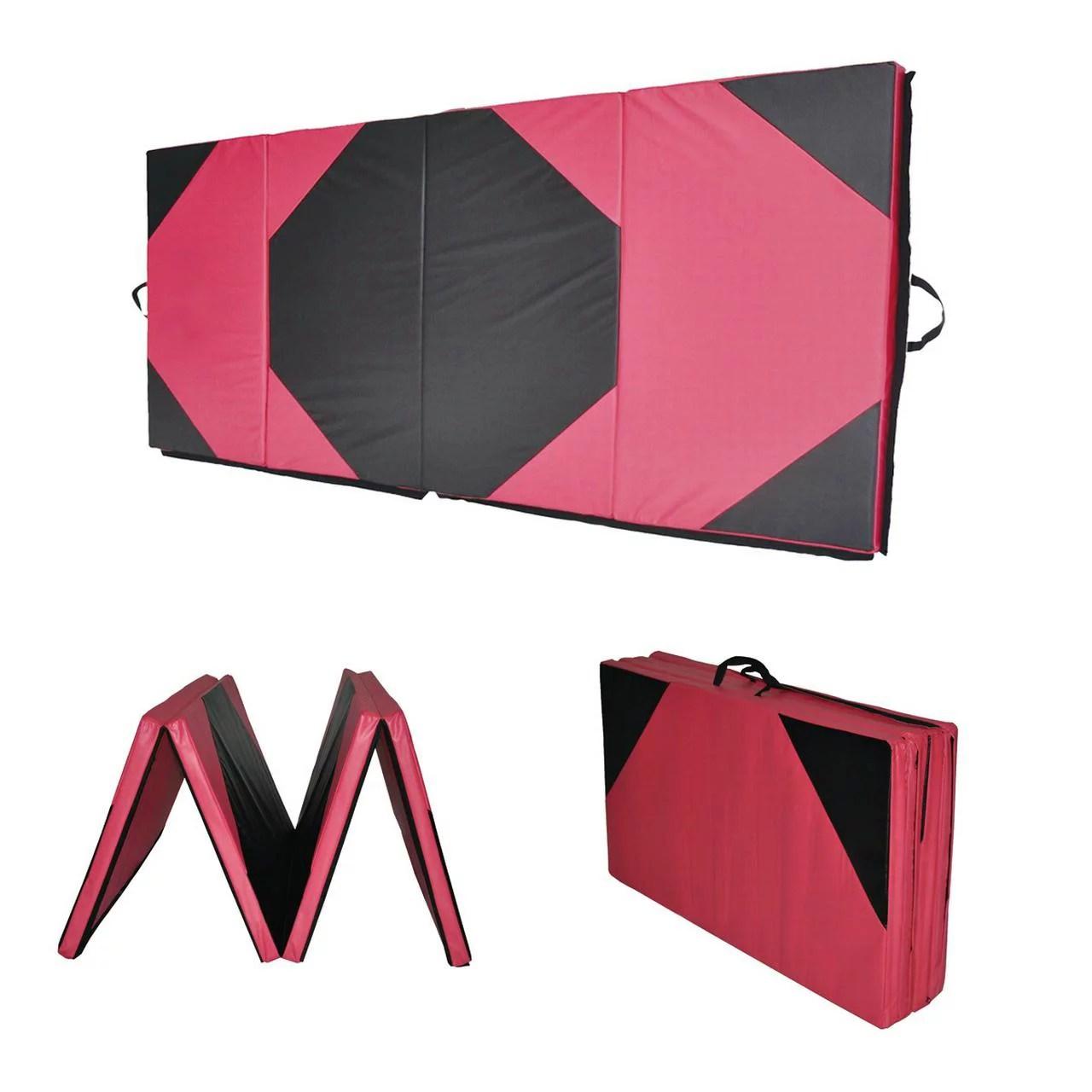 4 X10 X2 Exercise Tri Fold Gym Mat For Gymnastics