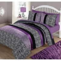 Your Zone Zebra Bedding Comforter Set - Walmart.com