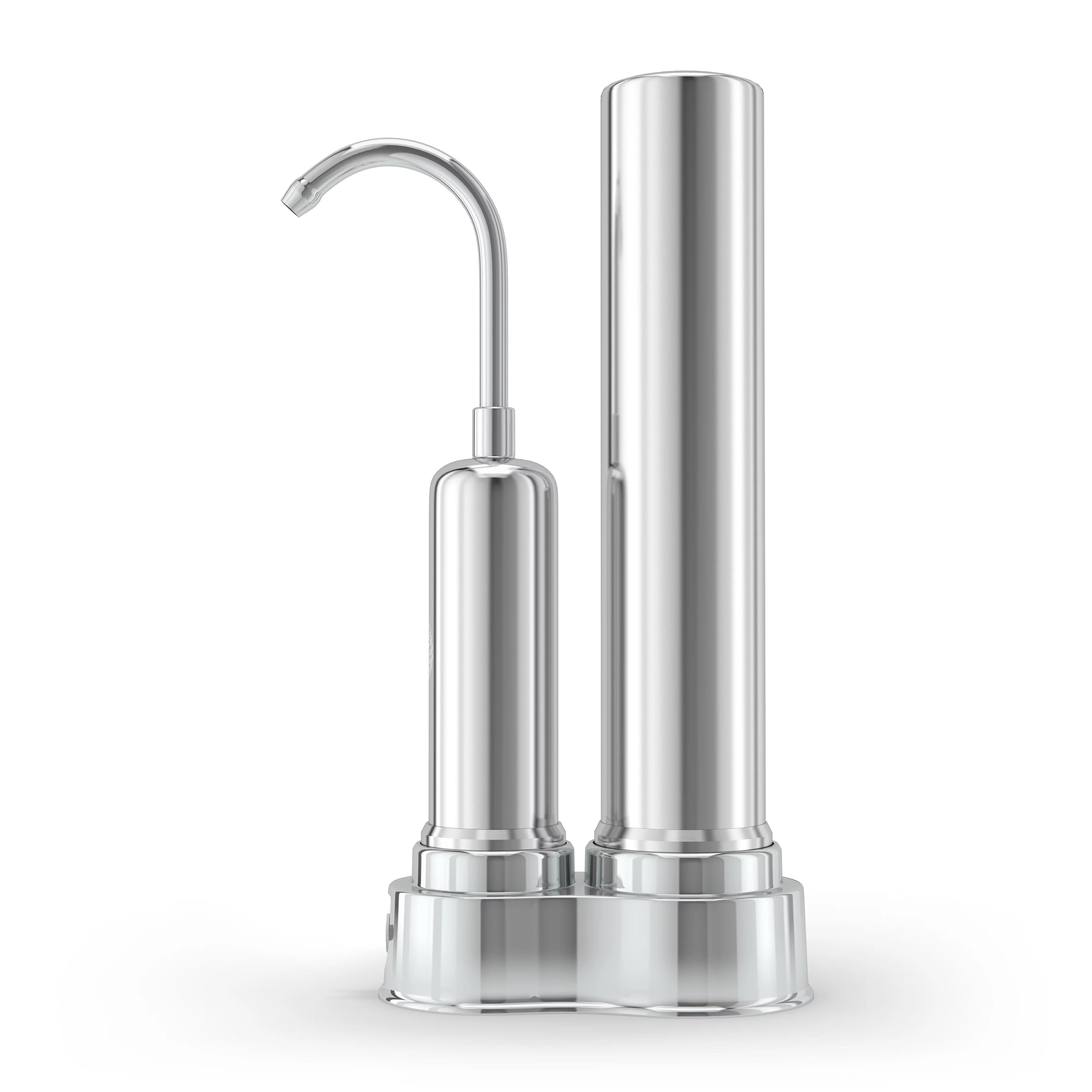 ph regenerate faucet water filter purifier high ph alkaline water filter system home kitchen tap bathroom sink easy installation huge filter