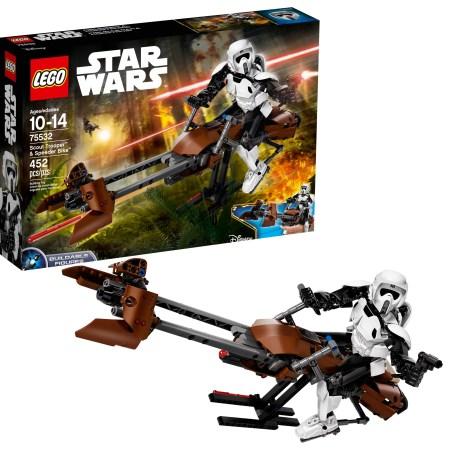 LEGO Star Wars Scout TM Trooper & Speeder Bike 75532