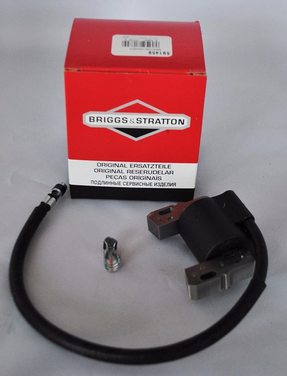 home electric ersatzteile swimming pool electrical wiring diagram genuine oem briggs stratton 492341 591459 ignition coil armature magneto up for sale