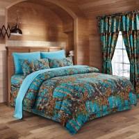 The Woods Sea Breeze Camouflage King 8pc Premium Luxury