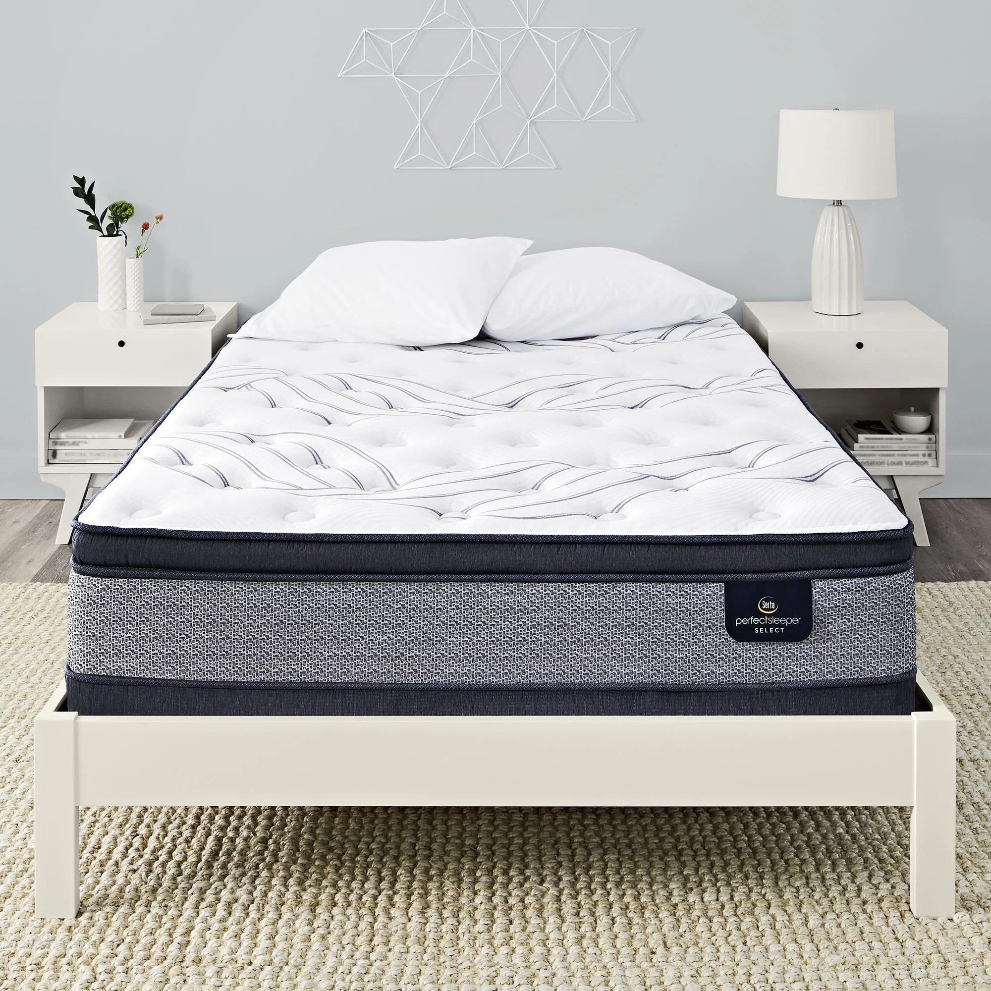 serta perfect sleeper kleinmon ii pillowtop firm queen mattress
