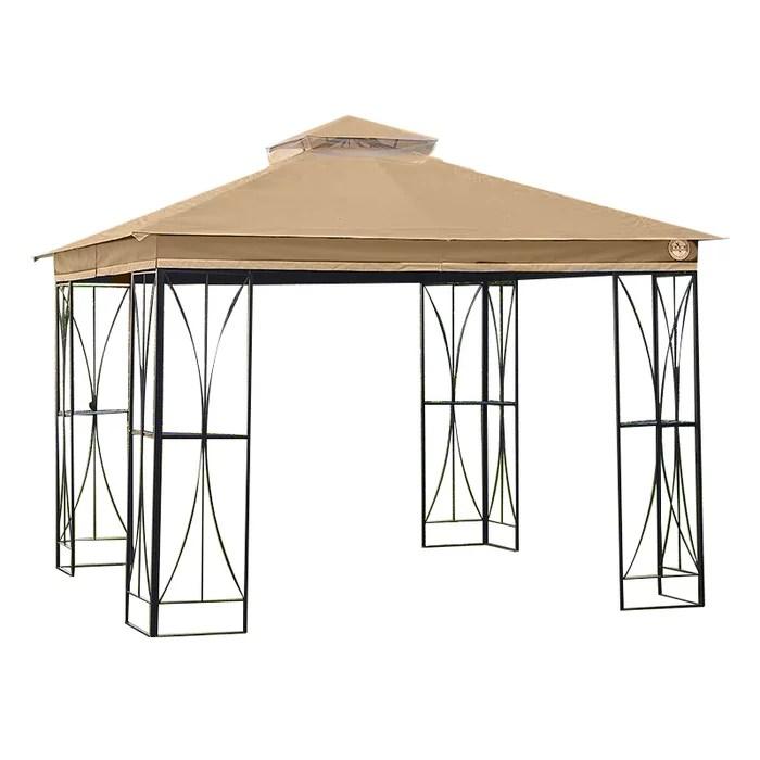 garden winds replacement canopy for the wegman s 10 x 10 gazebo riplock 350