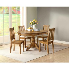 Dining Table And Chair Sets Baby Shower Couch Better Homes Gardens Bankston Set Of 2 Honey Walmart Com