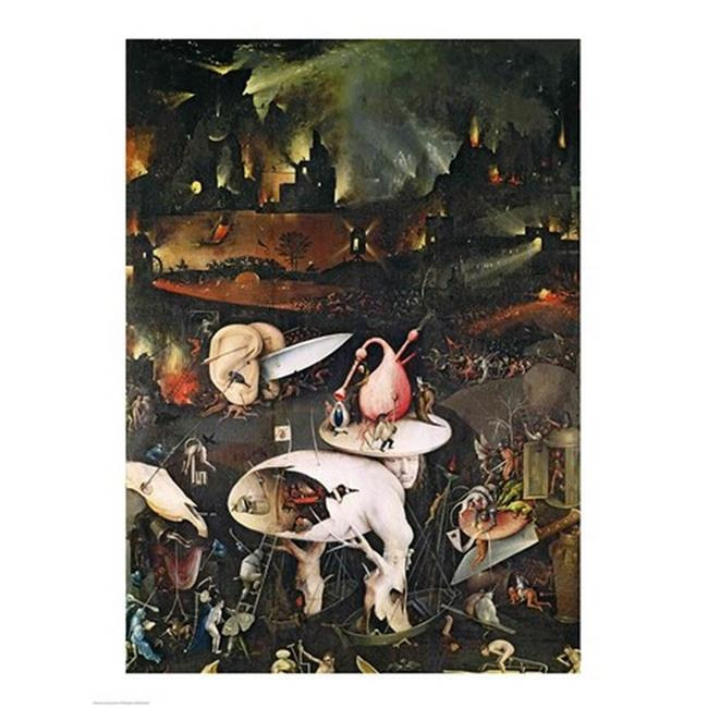 Who Painted The Unusual Garden Of Earthly Delights