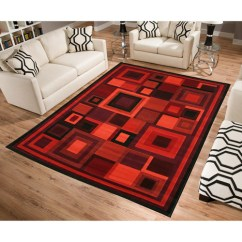 Walmart Rugs For Living Room Table Accessories Terra Piano Rectangle Area Rug Black White Com