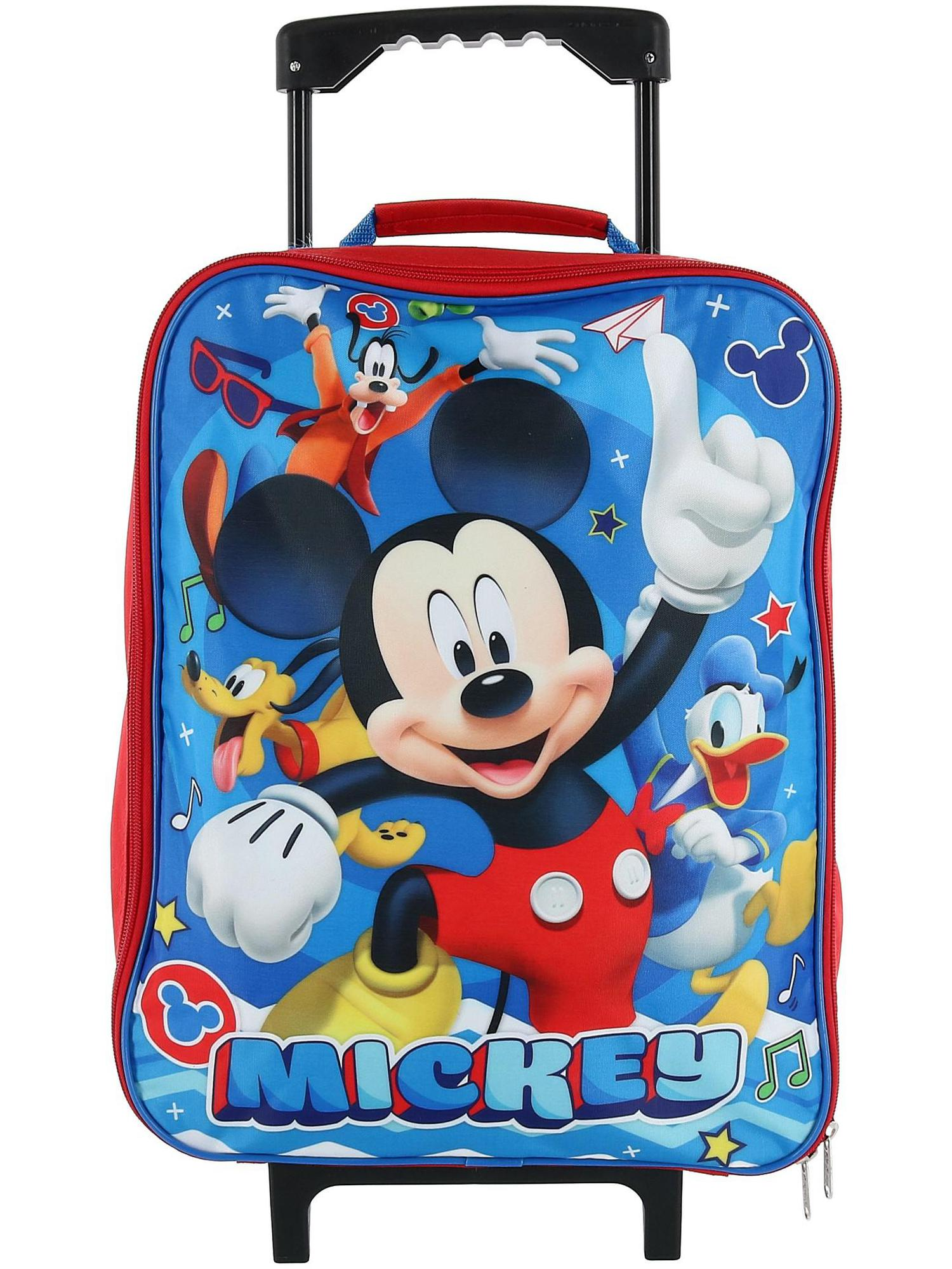 Disney - Disney Kids' Mickey Mouse Rolling Carry-on ...