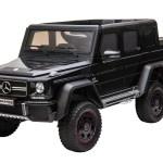 Kool Karz Mercedes Benz G63 Amg 6x6 12v Electric Ride On Toy Car Black Walmart Com Walmart Com