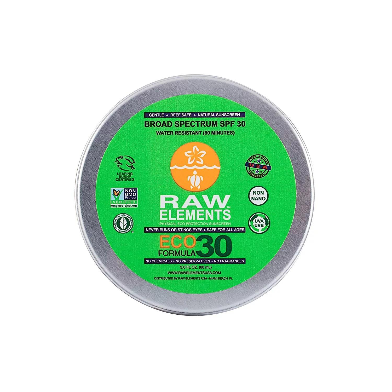 Face and Body Certified Natural Sunscreen   Non Nano Zinc ...