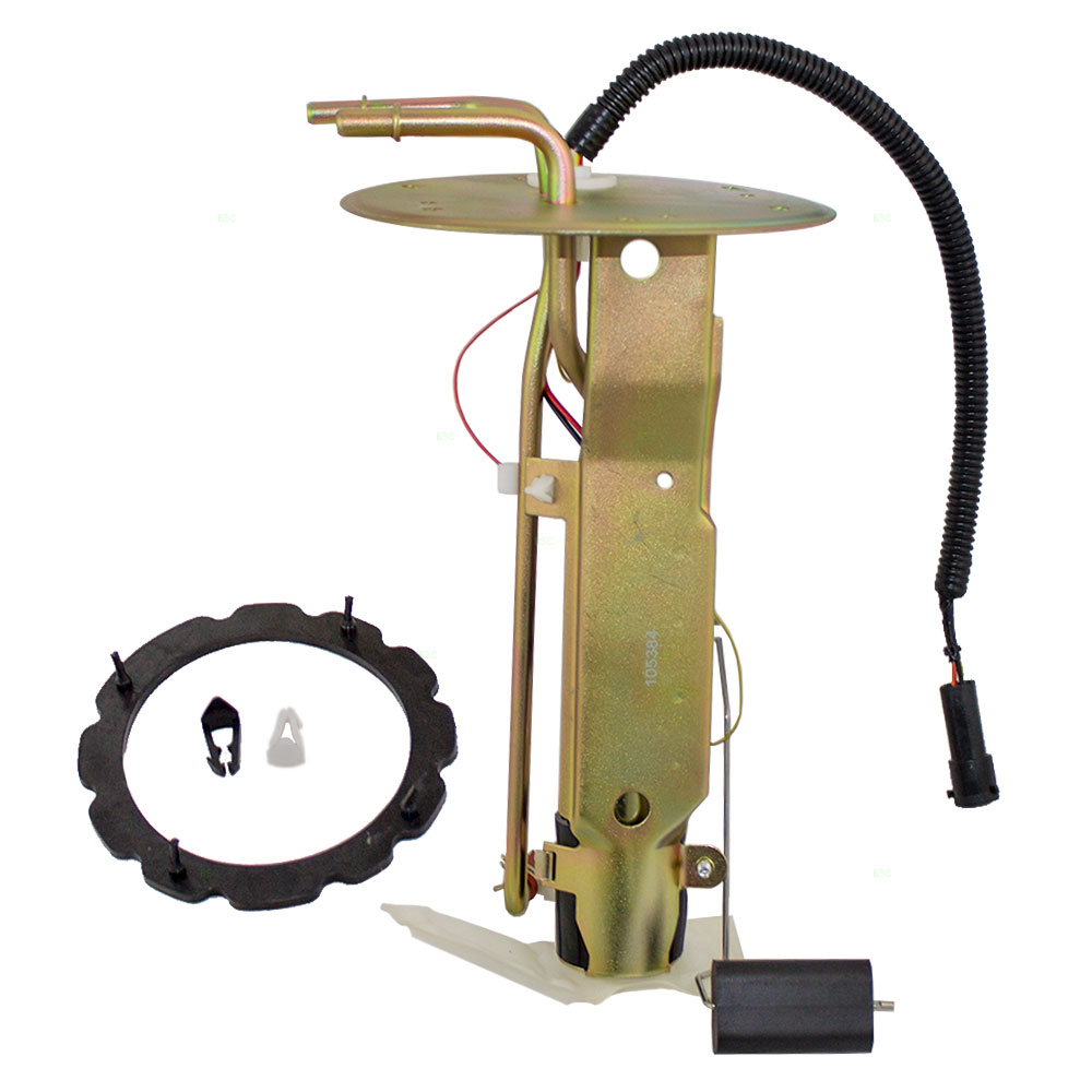 hight resolution of center tank fuel pump assembly with 2 ports replacement for ford van 5 4l 3c2z 9h307 cb walmart com