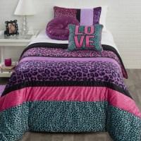Seventeen Pop Cheetah Comforter Set - Walmart.com