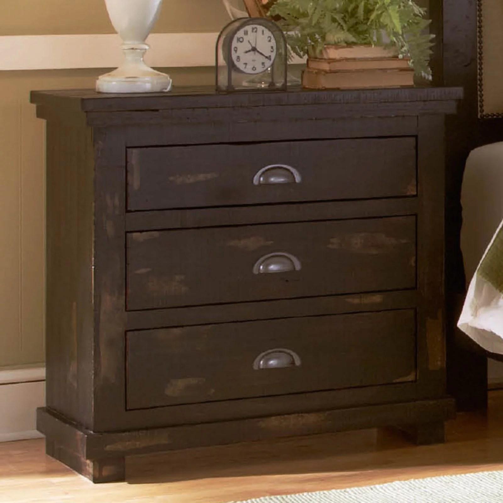 Progressive Furniture Willow 3 Drawer Nightstand Walmart Com