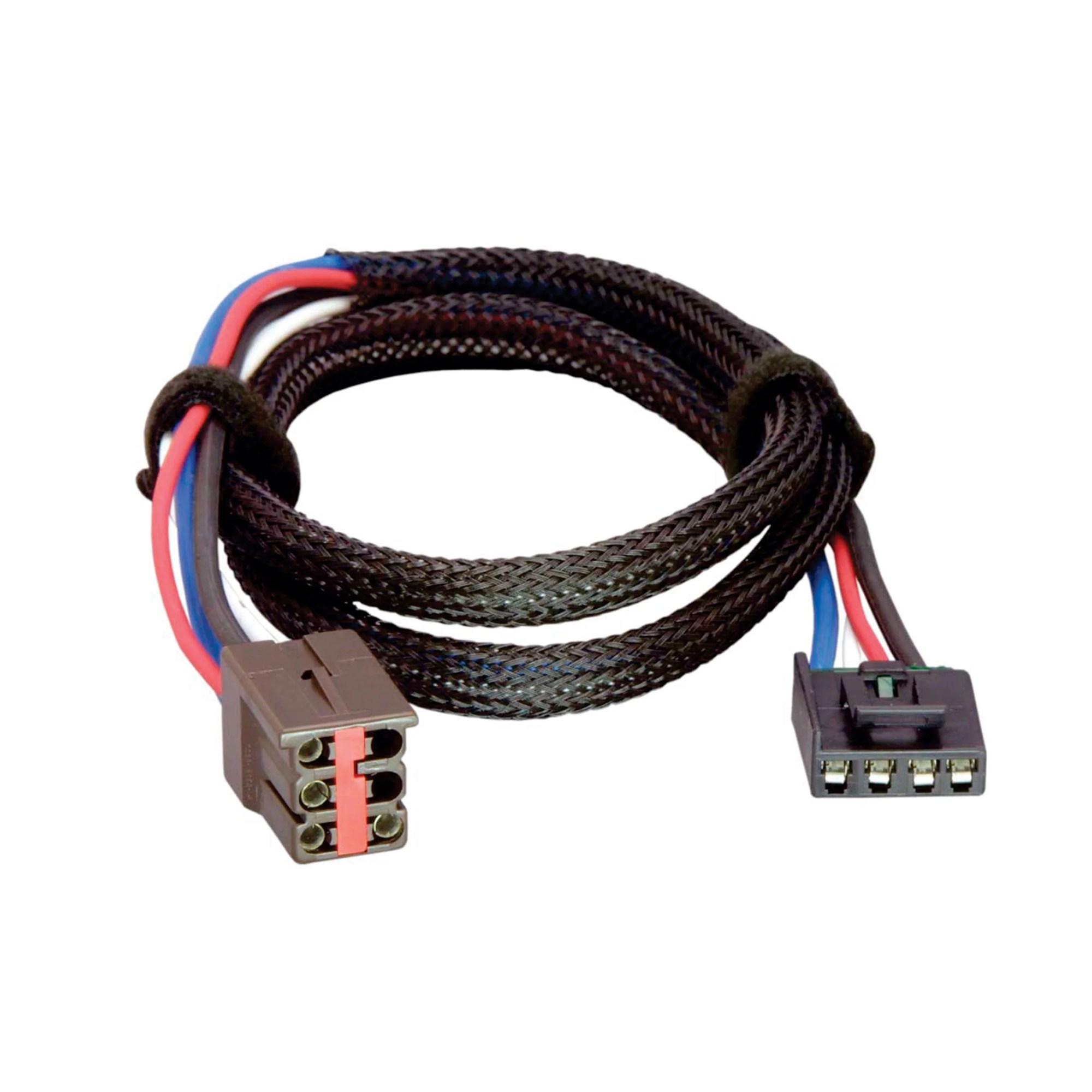 hight resolution of tekonsha 3035 p trailer brake control wiring harness 2 plugs ford walmart com