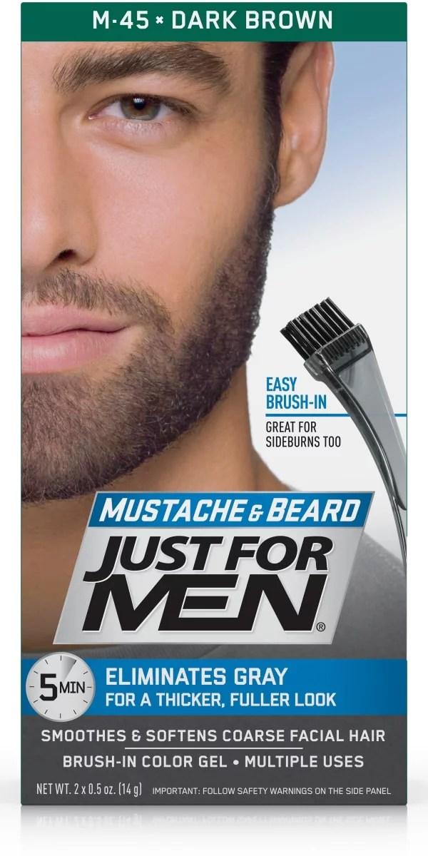 men mustache and beard