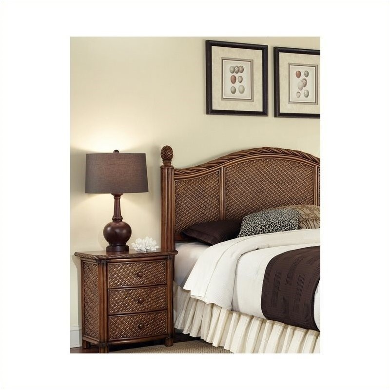 hawthorne collections king panel headboard and nightstand set