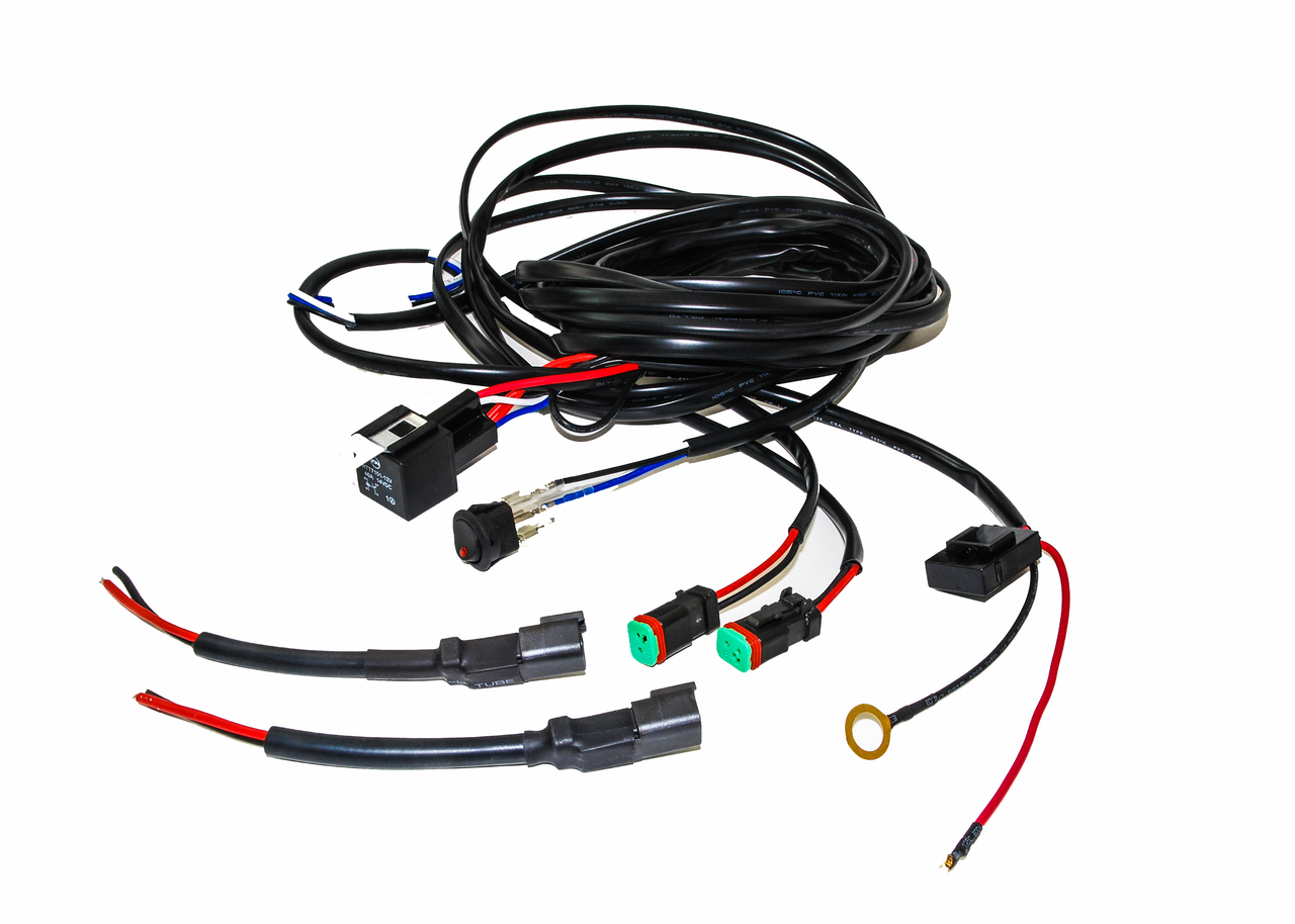 OZ Double DT harness plug wiring kit for LED HID lights