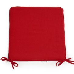 Red Kitchen Chair Pads Rocking Inspirational Foam Cushions Rtty1