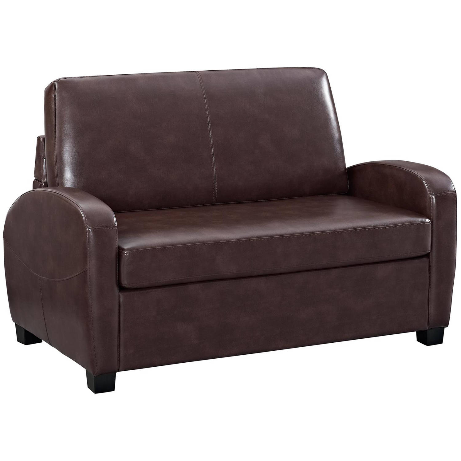 Convertible Chair Sleeper Convertible Sofa Leather Couch Twin Bed Mattress Sleeper