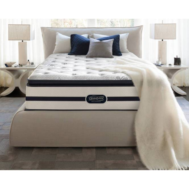 Beautyrest Recharge Enchanting Nights 14 Plush Pillowtop Mattress Multiple Sizes