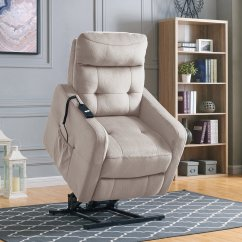 Home Meridian Lift Chair Repair Leather Wing Recliners Walmart Com Product Image Lucie Power Recliner And In Platinum Velour