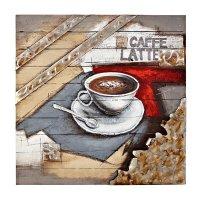 Majestic Espresso Brown Coffee Wall Art - Walmart.com