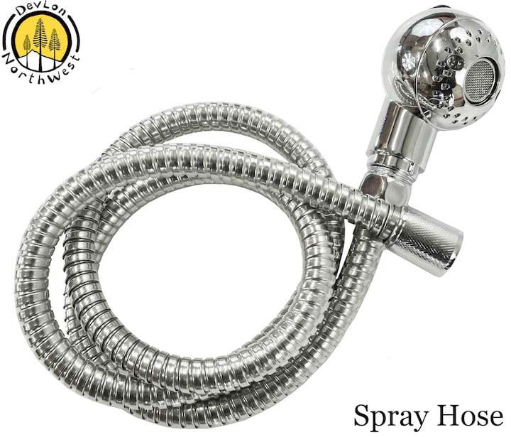 devlon northwest spray hose sprayer for salon spa shampoo backwash unit bowl sink replacement