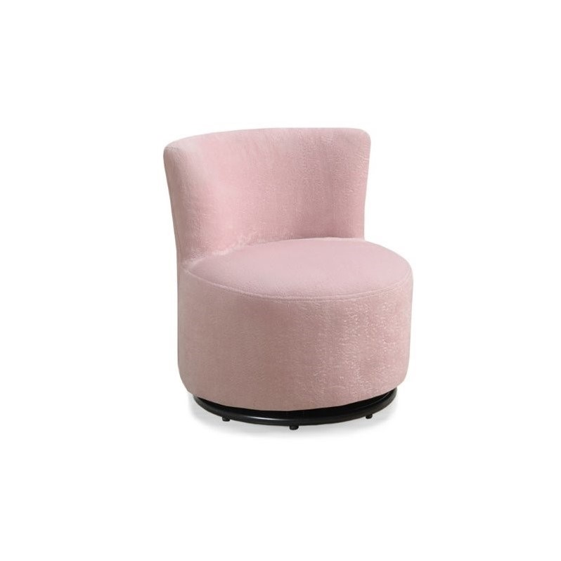pink swivel chair bamboo baby kingfisher lane in walmart com