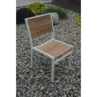 Three Birds Casual Soho Patio Dining Chair in Silver (Set ...