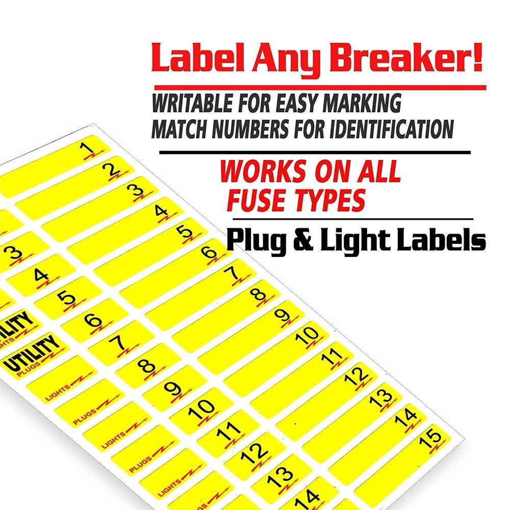 medium resolution of easy read breaker box decals tough vinyl labels for circuit breakers great for home owners apartment complexes and electricians