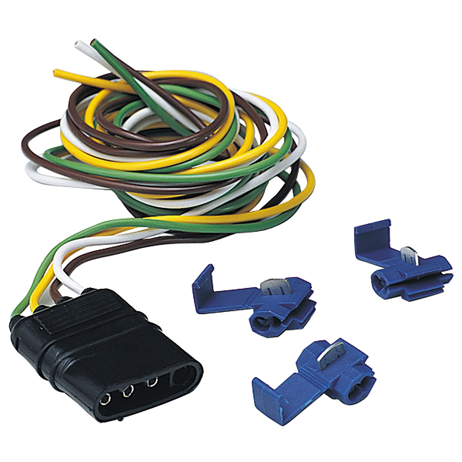 medium resolution of wire flat trailer end connector hopkins towing hitch wiring blog 47915 5 wire flat trailer end connector hopkins towing trailer hitches