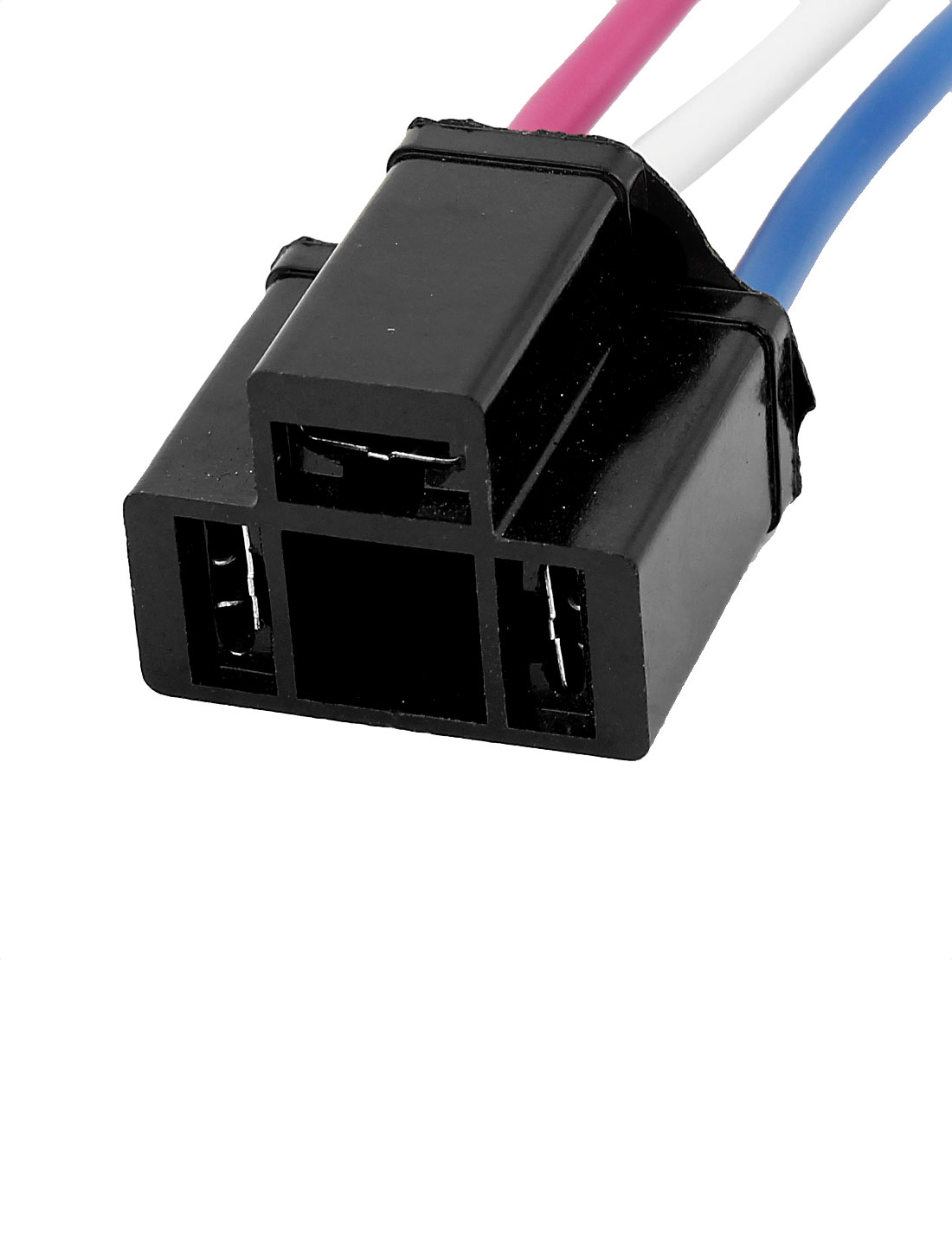 medium resolution of auto car alarm relay harness cable 3 wire end cermic h4 socket black walmart canada