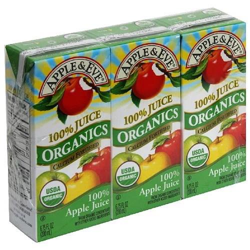 Apple Eve Organics Juice Apple 675 Fl Oz 3 Count