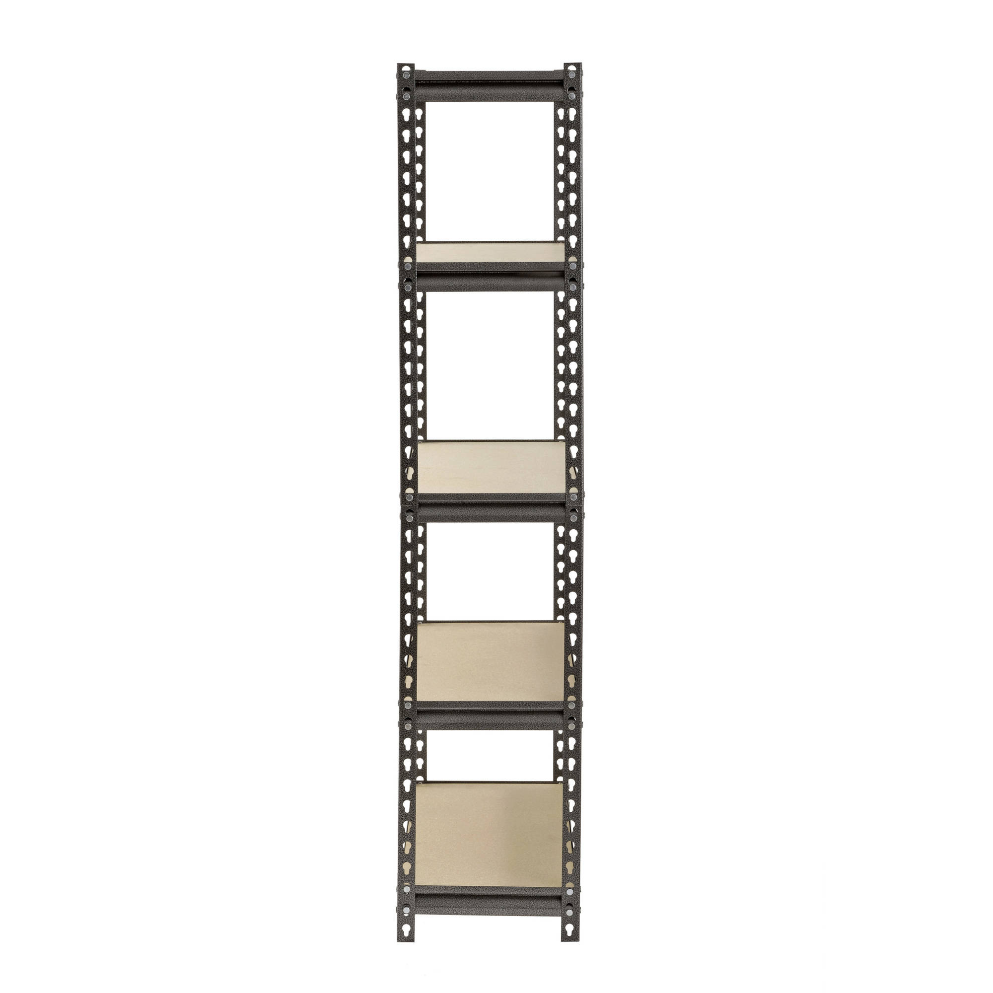 muscle rack silver vein 12 d x 30 w x 60 h 5 shelves steel shelving unit