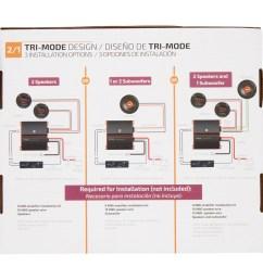 2 bridged speaker wiring diagram [ 2365 x 2365 Pixel ]