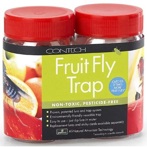 Contech 300000163 2 Pack Fruit Fly Trap - Walmart.com